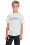 Youth White Macomb Montessori Academy Color Logo T-shirt