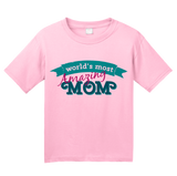 Youth Pink World's Most Amazing Mom - Mother's Day Gift Best Mommy Love T-shirt