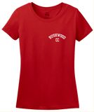 Ladies Red Bushwood Country Club - Homage To Caddyshack T-shirt