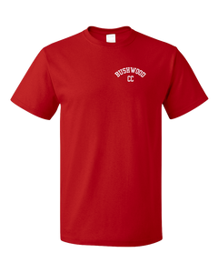 Standard Red Bushwood Country Club - Homage To Caddyshack T-shirt