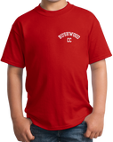 Youth Red Bushwood Country Club - Homage To Caddyshack T-shirt