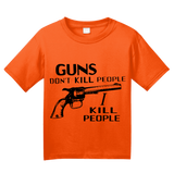 "Youth Orange ""Guns Don't Kill People - Happy Gilmore Homage  T-shirt"