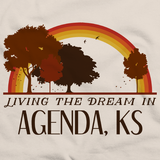 Living the Dream in Agenda, KS | Retro Unisex
