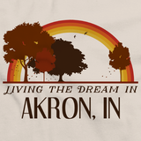 Living the Dream in Akron, IN | Retro Unisex