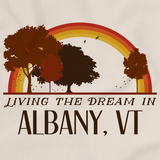 Living the Dream in Albany, VT | Retro Unisex