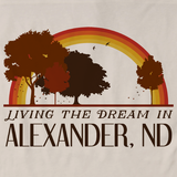 Living the Dream in Alexander, ND | Retro Unisex