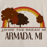 Living the Dream in Armada, MI | Retro Unisex