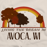 Living the Dream in Avoca, WI | Retro Unisex
