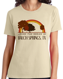 Ladies Natural Living the Dream in Balch Springs, TX | Retro Unisex  T-shirt