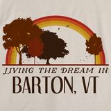 Living the Dream in Barton, VT | Retro Unisex