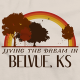 Living the Dream in Belvue, KS | Retro Unisex