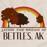 Living the Dream in Bettles, AK | Retro Unisex