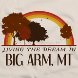 Living the Dream in Big Arm, MT | Retro Unisex