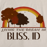 Living the Dream in Bliss, ID | Retro Unisex