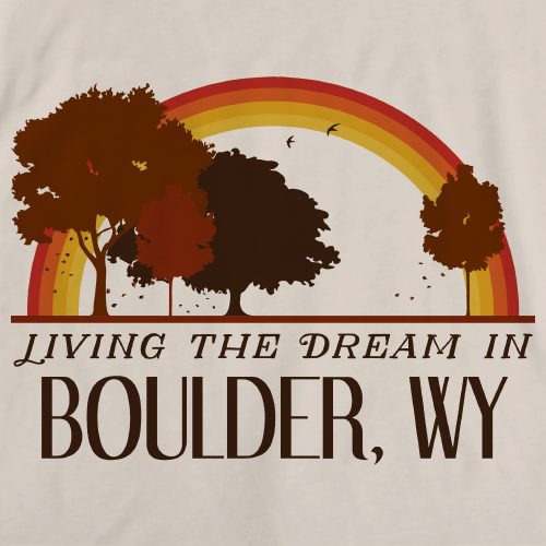 Living the Dream in Boulder, WY | Retro Unisex