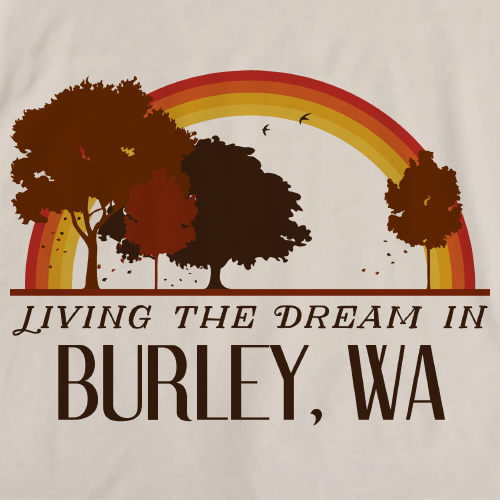 Living the Dream in Burley, WA | Retro Unisex