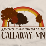 Living the Dream in Callaway, MN | Retro Unisex