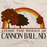 Living the Dream in Cannon Ball, ND | Retro Unisex