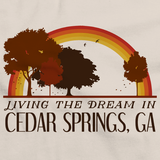 Living the Dream in Cedar Springs, GA | Retro Unisex