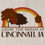 Living the Dream in Cincinnati, IA | Retro Unisex