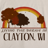 Living the Dream in Clayton, WI | Retro Unisex
