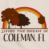 Living the Dream in Coleman, FL | Retro Unisex