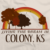 Living the Dream in Colony, KS | Retro Unisex