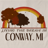 Living the Dream in Conway, MI | Retro Unisex
