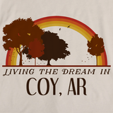 Living the Dream in Coy, AR | Retro Unisex
