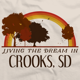 Living the Dream in Crooks, SD | Retro Unisex