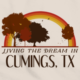 Living the Dream in Cumings, TX | Retro Unisex