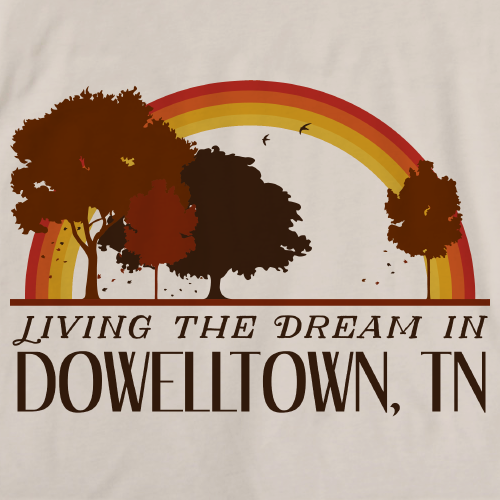 Living the Dream in Dowelltown, TN | Retro Unisex