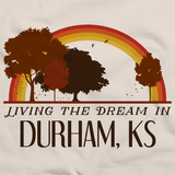 Living the Dream in Durham, KS | Retro Unisex