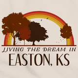 Living the Dream in Easton, KS | Retro Unisex
