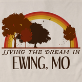 Living the Dream in Ewing, MO | Retro Unisex