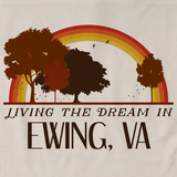 Living the Dream in Ewing, VA | Retro Unisex