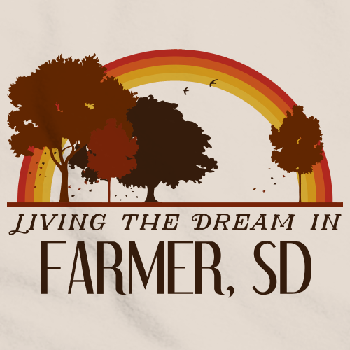 Living the Dream in Farmer, SD | Retro Unisex