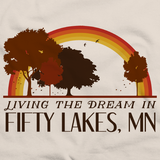 Living the Dream in Fifty Lakes, MN | Retro Unisex