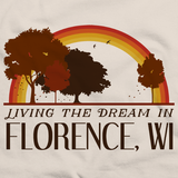 Living the Dream in Florence, WI | Retro Unisex