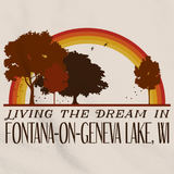 Living the Dream in Fontana-On-Geneva Lake, WI | Retro Unisex