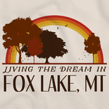 Living the Dream in Fox Lake, MT | Retro Unisex