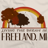 Living the Dream in Freeland, MI | Retro Unisex