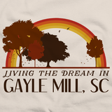 Living the Dream in Gayle Mill, SC | Retro Unisex
