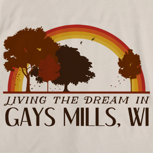 Living the Dream in Gays Mills, WI | Retro Unisex