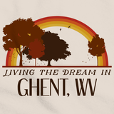 Living the Dream in Ghent, WV | Retro Unisex