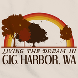 Living the Dream in Gig Harbor, WA | Retro Unisex