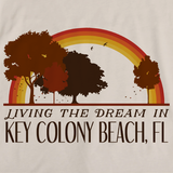 Living the Dream in Key Colony Beach, FL | Retro Unisex