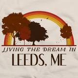 Living the Dream in Leeds, ME | Retro Unisex