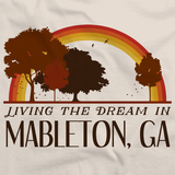 Living the Dream in Mableton, GA | Retro Unisex