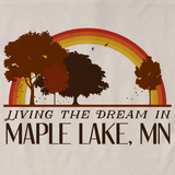 Living the Dream in Maple Lake, MN | Retro Unisex